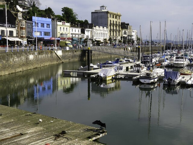 The Old Harbour in Torquay