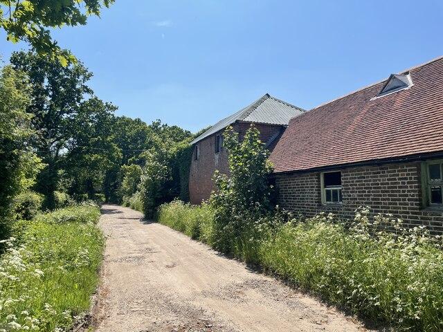 Barn at High Lankhurst Farm