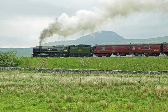 British India Line near Helwith Bridge