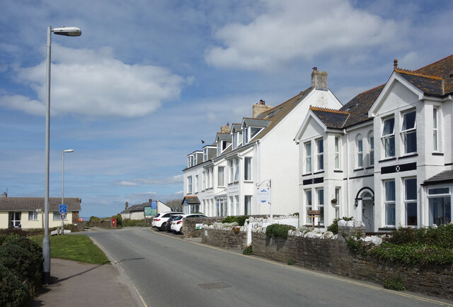 Guest Houses, Atlantic Road, Tintagel