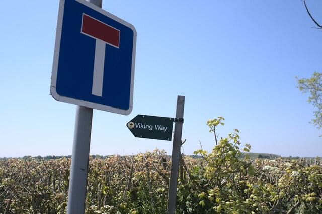 Viking Way sign