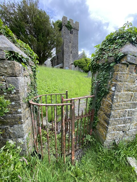Old kissing gate