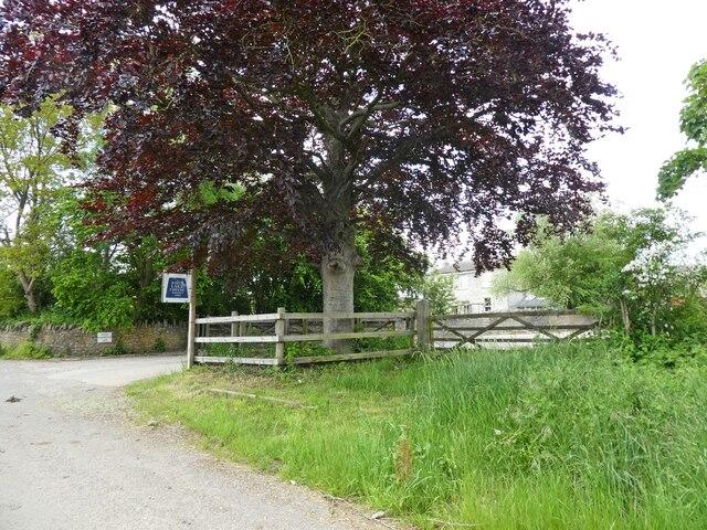 Entrance, Higher Bagborough Farm
