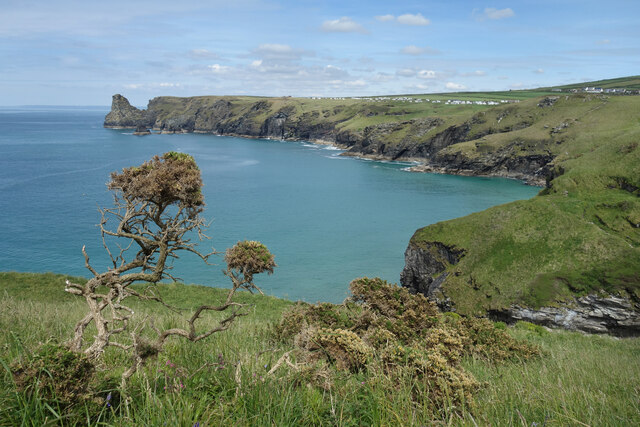 Above Bossiney Haven