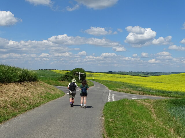 Crossroads along Icknield Way