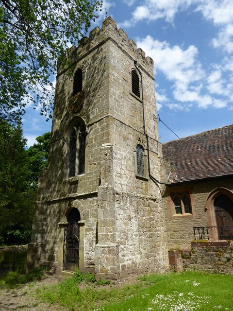 The tower of Willey church