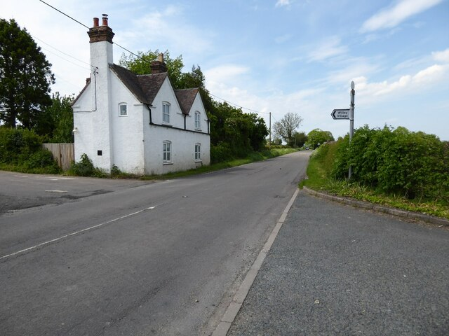 House on a road junction