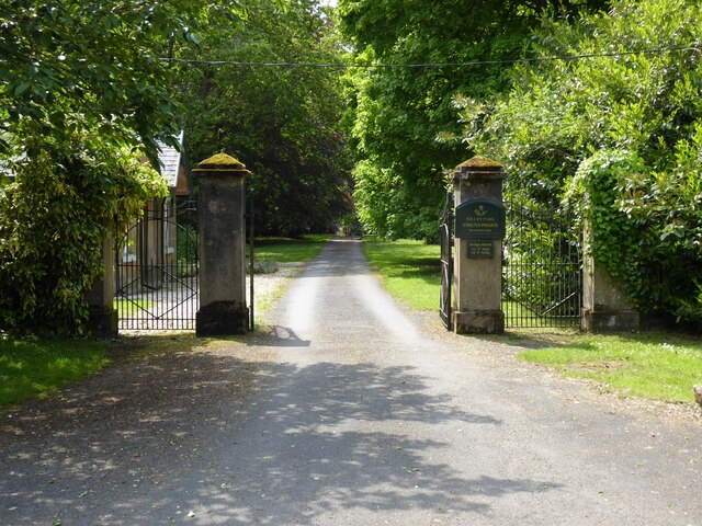 Entrance to Willey Estate
