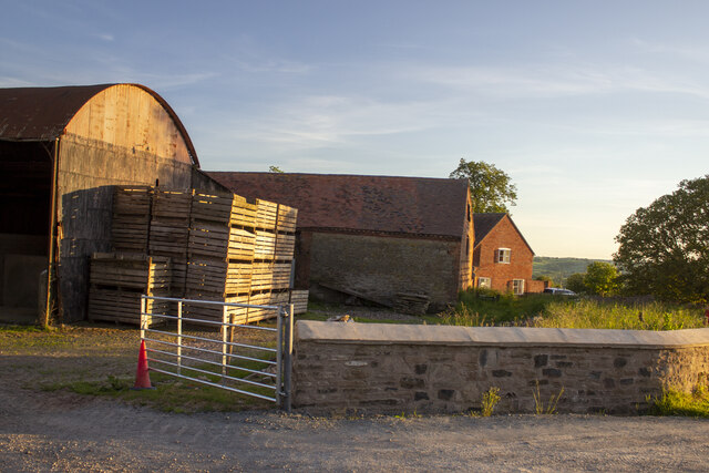 Hill Top Farm by P Gaskell