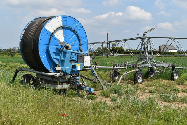 Irrigation equipment near Shirehall Farm