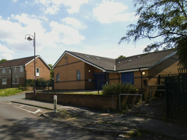 Salvation Army premises, St Margaret's Avenue, Holme Wood