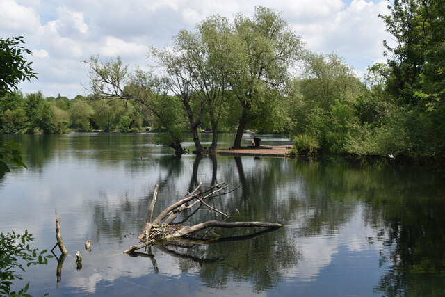 Corner of Brooklands Lakes