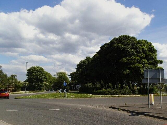 Westgate Hill roundabout