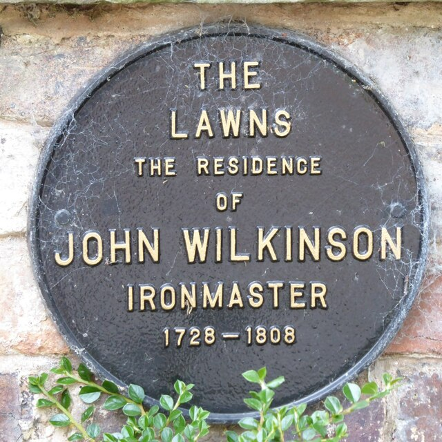 Plaque on The Lawns