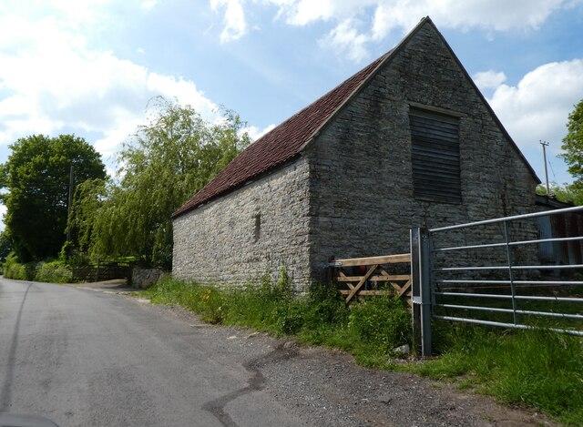 Stone barn on Top Street