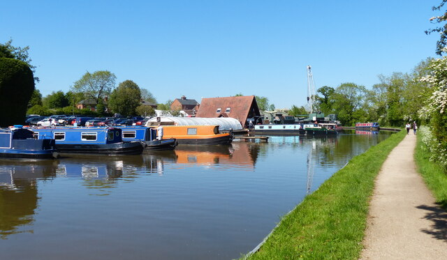 Alvechurch Marina on the Worcester and Birmingham Canal