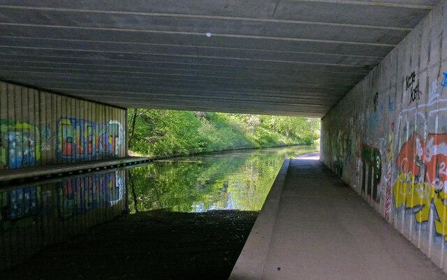 Under the M42 Motorway Bridge No 64B