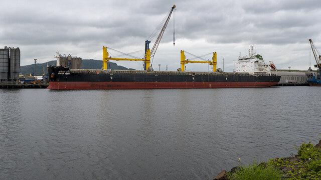 The 'Sarika Naree' at Belfast