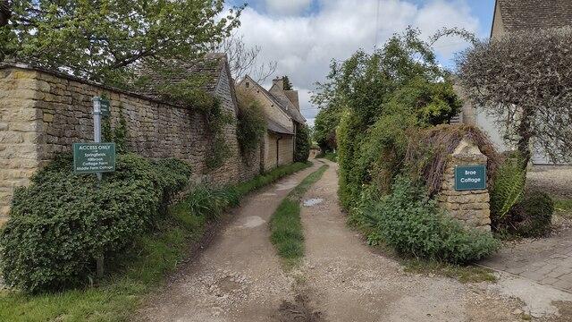 Path to Spelsbury