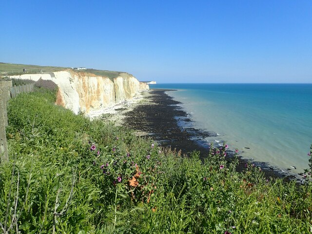 The cliffs at Peacehaven Heights by Marathon