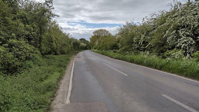 B4030 heading towards Enstone