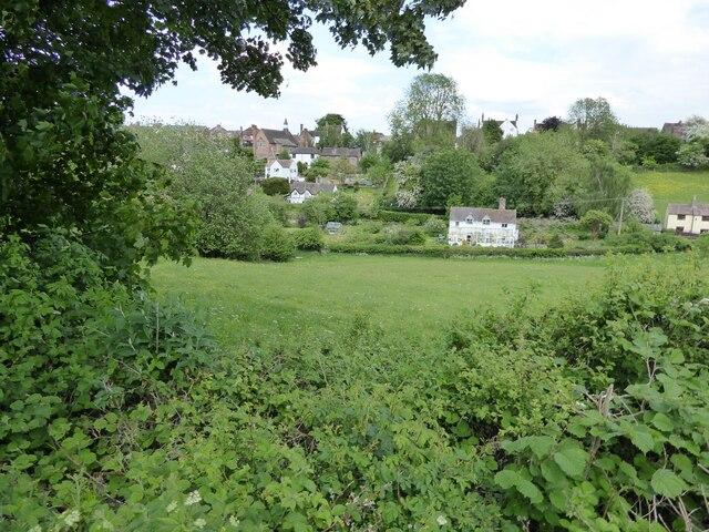 Houses in Broseley