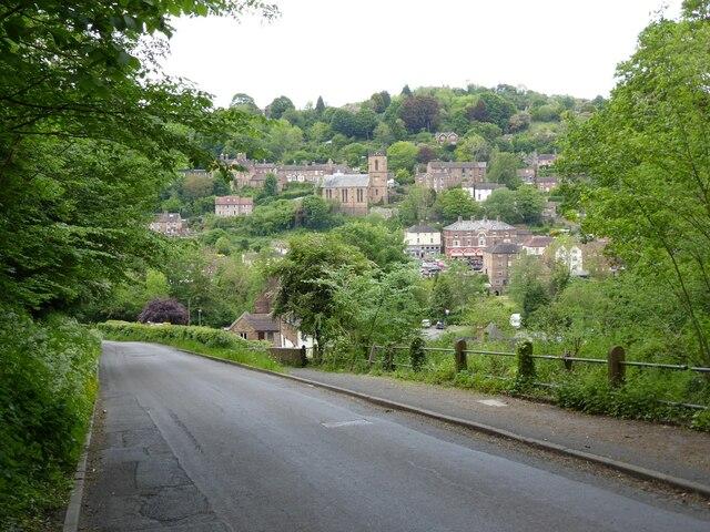 Ironbridge viewed from Bridge Road
