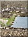 HY2103 : Sandy Loch Dam by Mick Garratt