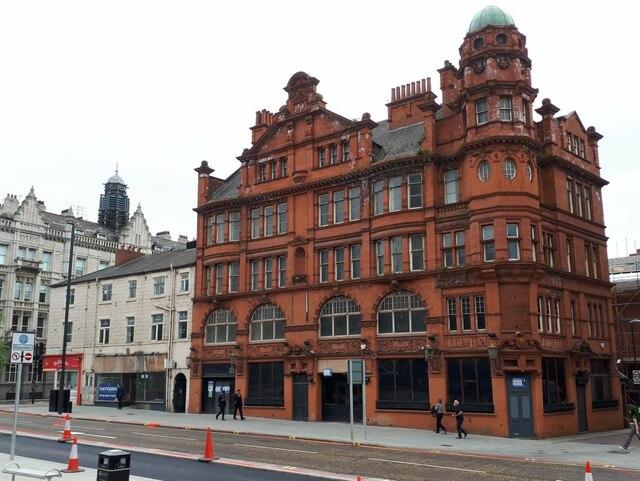 The former Jubilee Hotel