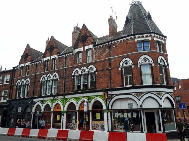 Painting the premises, Great George Street