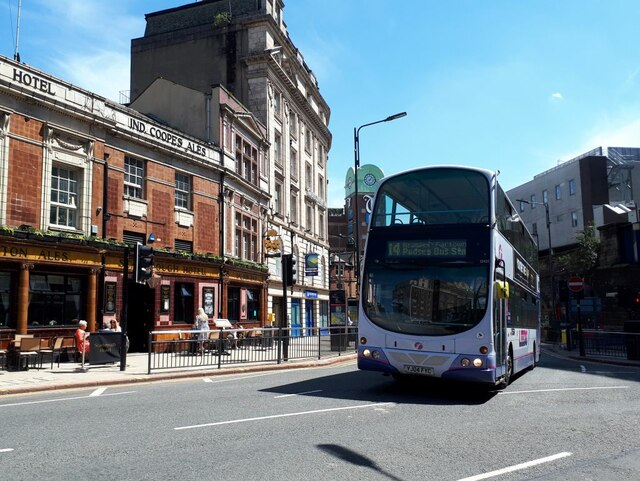 New route for the 14 bus