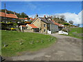 NZ8512 : Cottages at Sandsend, near Whitby by Malc McDonald