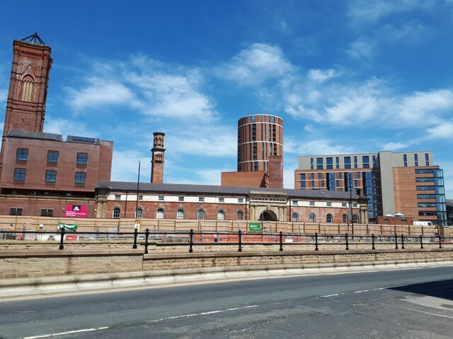 Tower Works with new development