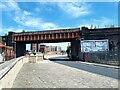 SE2932 : Farnley Viaduct crossing Water Lane by Stephen Craven