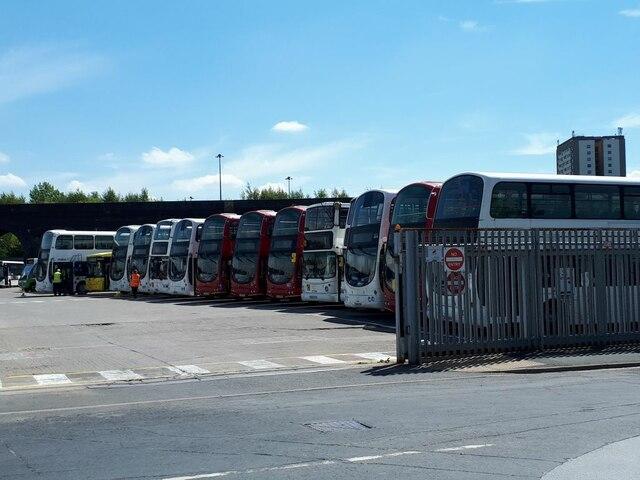 CT-Plus bus depot, Water Lane