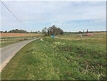 SP3666 : HS2 enabling works near Offchurch, April 2021 (3) by Robin Stott