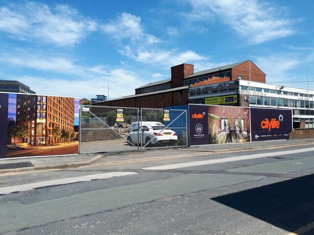 Entrance to City Life development, Springwell Road