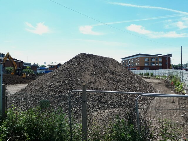 Demolition site south of Whitehall Road