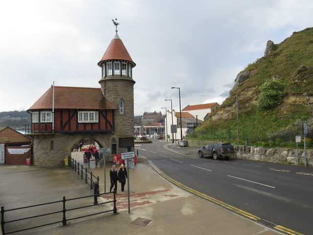 Marine Drive and toll house, Scarborough