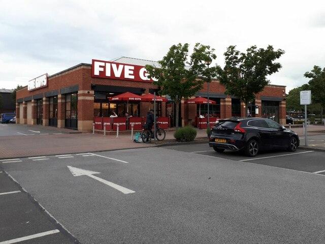 Five Guys, Cardigan Fields