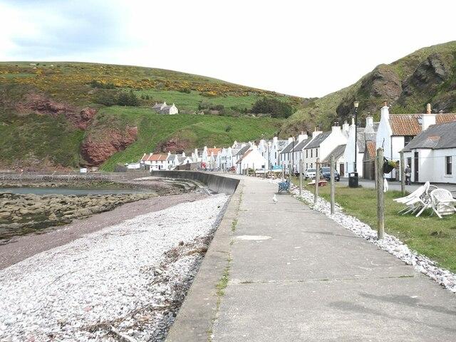 Pennan village