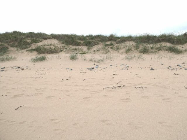 Sand dunes south of St Combs