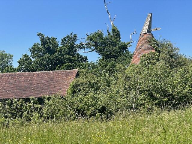 Oast kiln at Rolf's Farm