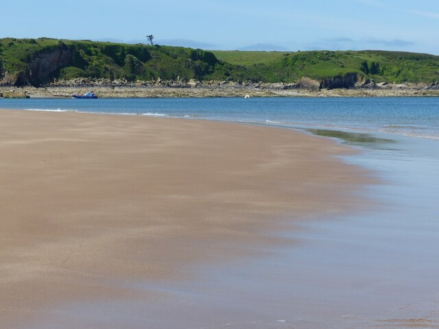 The northernmost point on Priory Beach, Caldey Island