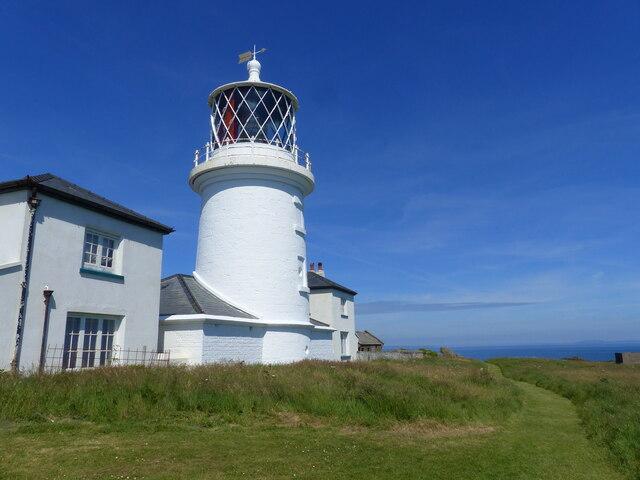 The lighthouse, Caldey Island