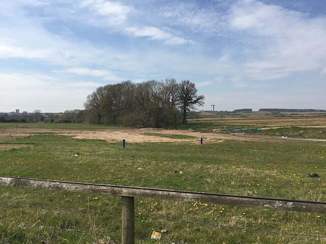 HS2 enabling works near Offchurch, April 2021 (4)
