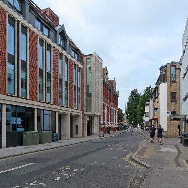 Round Church Street: the rebuilt Cambridge Union