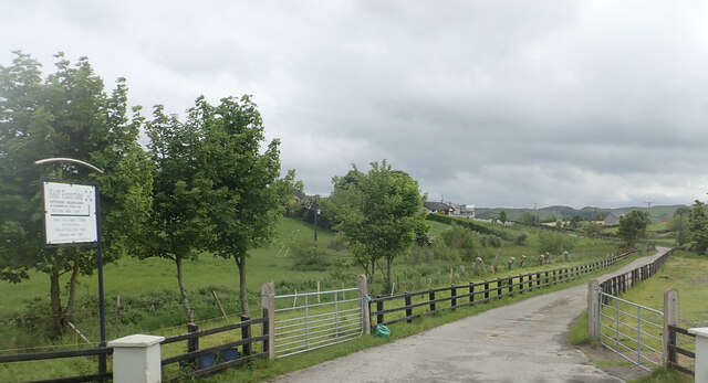 Road linking the B8 (Hilltown Road) with the BMP Furniture Manufacturers