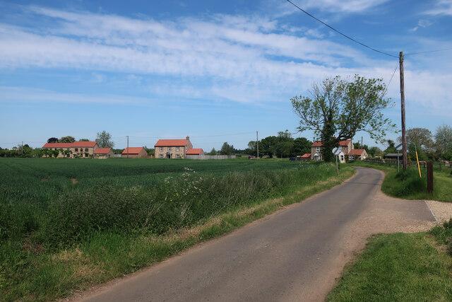 Field Lane out of Wretton