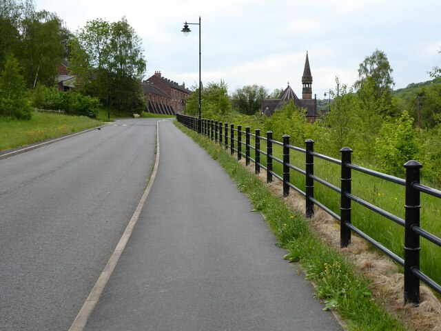Salthouse Road at Jackfield